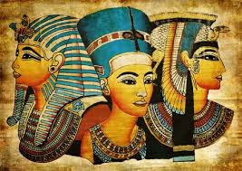the ancient egyptians connected cosmetics to spirituality since everything about the ancient egyptian culture was regarded