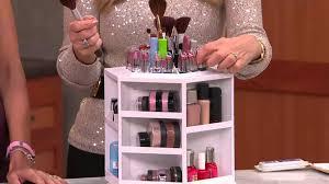 lori greiner makeup organizer lori greiner spinning cosmetic organizer tabletop spinning makeup organizer