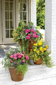 Spectacular Container Gardening Ideas  Southern LivingContainer Garden Ideas For Front Porch