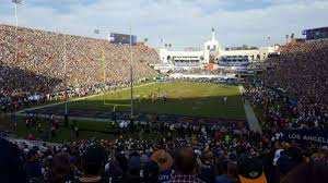 Los Angeles Memorial Coliseum Section 113 Home Of Usc