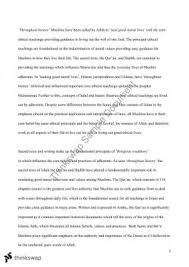 islamic bioethics essay year hsc studies of religion ii  islam essay