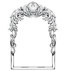 Mirror frame vector Cutting Victorian Mirror Frame Style Mirror Mirror Frame Vintage Imperial Baroque Mirror Frame Vector French Luxury Rich Victorian Mirror Frame 25fontenay1806info Victorian Mirror Frame Baroque Mirror Frame Vector French Luxury