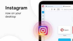Instagram now on your desktop in the Opera browser - YouTube