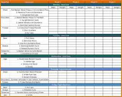 work out schedule templates 28 images of exercise schedule template leseriail com