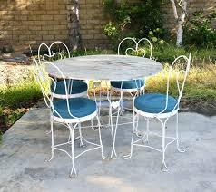 full size of vintage metal patio table and chairs round metal outdoor table neat patio furniture