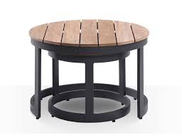 60 inch round outdoor table lovely newton teak top round industrial aluminum outdoor coffee table