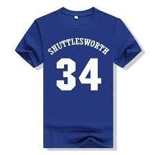 High School T Shirt Designs Ray Allen Jesus Shuttlesworth 34 Blue Lincoln High School T Shirts Blue He Got Game Web T Shirts Great Tee Shirt Designs From Tonytao 11 17