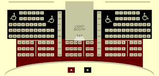 Showcase Live Seating Chart Seating Chart Liberty Theatre