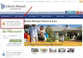 liberty mutual life insurance login step 1