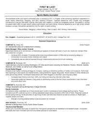 College Student Resume Examples Resumes No Work Experience