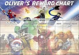Avengers Potty Chart Lego Marvel Avengers Ls Boys Reward Chart Reusable