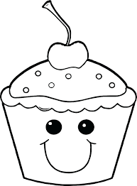 Shopkins Cupcake Coloring Pages Cute Mouse Page Birthday Cupcakes