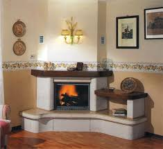 corner fireplaces amish electric fireplace gas