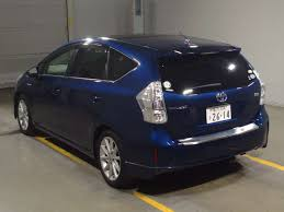 Toyota PRIUS α 2011 available at Autocraft Japan - Color:BLUE ...