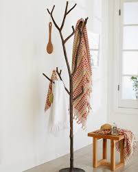 Metal Tree Branch Coat Rack