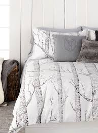 Best 25+ Grey duvet covers ideas on Pinterest | Comfy bed, Bed ... & A Woodland Wonderland | Simons Maison Nordic Forest Duvet Cover Set. #home # bedding Adamdwight.com