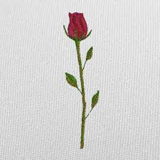 Free Embroidery Designs Jef Format Free Embroidery Design Single Rose Free Embroidery