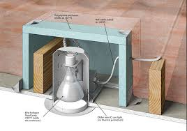 incredible air sealing can lights safely fine homebuilding insulate can lights plan