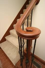 new interior handrail n j w construction home depot and railing at menard wood edmonton calgary nz installation