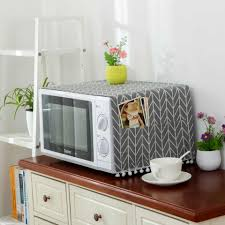 Dream NS Nordic cotton linen universal microwave oven cover ...