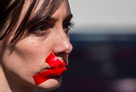 artificial intelligence help unravel red tape fortune a w wearing red tape over her mouth