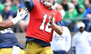 Notre Dame Football Depth Chart Notre Dame Football Predicting The Two Deep Depth Chart