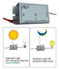 Light Sensitive Switch Automatic Light Switch Light Sensitive Switch Automatic Light Switch For A