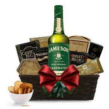 jameson caskmates ipa edition irish whiskey gift basket