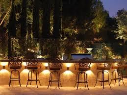 exterior lighting design ideas. exterior modern summer kitchen design feat metal barstools and cool outdoor lighting under bar table idea designing ideas t