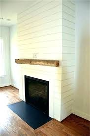 reclaimed wood mantle nj new remodeled fireplace with floating