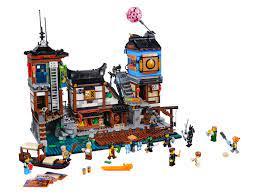 LEGO® The LEGO Ninjago Movie - Ninjago City Hafen 70657 (2018) | LEGO®  Preisvergleich brickmerge.de