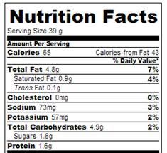 oreo pops nutrition facts