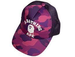 Bape A Bathing Ape Purple Cap Vesker