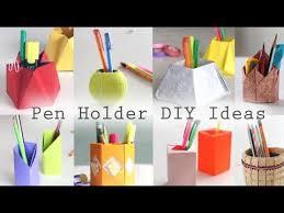 easy diy pencil holder ideas