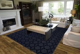 5 x 7 area rug stain resistant carpet diamond living room mat decor modern