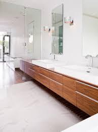 traditional designer bathroom vanities. Modern Meets Traditional With Trendy Lighting Fixtures And Classic Cherry Cabinets. Designer Bathroom Vanities