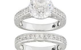 bella luce wedding rings bella luce r wedding enement set ring w 7 11ctw cz