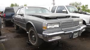 1988 Chevrolet Caprice Classic Junkyard Find