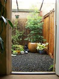 ... Garden Design with Small Patio Decorating Ideas With Japanese Decor And  Bamboo Plants with Wisteria Plant