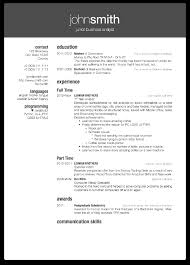 Resume Format In Latex Resume For Study