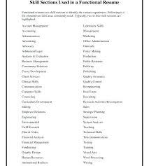 Management Skills List For Resume Job Application Skills List Scott William Grady