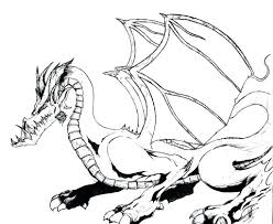 Coloring Pages Christmas Disney Free Printable Dragon For Kids Fire