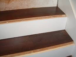 cork flooring on stairs step 7 installing laminate flooring on the stair treads