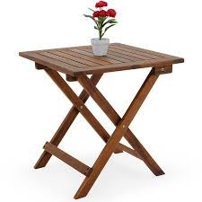 deuba coffee table small wood 46 x 46