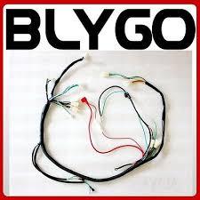250cc buggy zeppy io engine ac wiring harness wiring loom 150cc 250cc pit quad dirt bike atv buggy a