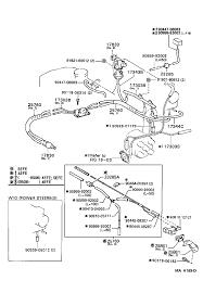 Toyota corollaee104g awmdk tool engine fuel vacuum piping mah169d 1708 vacuum piping