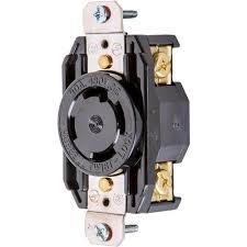 30 Amp 480v Nema L16 30 3 Phase Twist Lock Receptacle