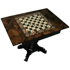 small chess table wooden board antique round base worthy square handmade standard diy outdoor glowing onyx chess tables
