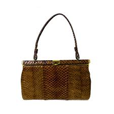 Snakeskin Designer Bags 125 Vintage Handbag Vintage Snakeskin Purse Vintage