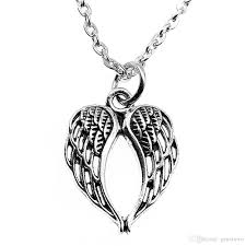 whole wysiwyg metal chain necklaces pendants pendant necklace women hollow double wings 21x16mm n2 b13688 diamond pendant necklace gold chain necklace